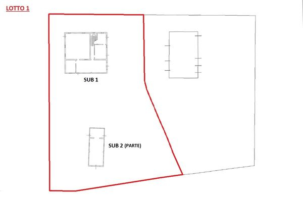 Immagine n1 - Planimetria - Piano terra - Asta 6436