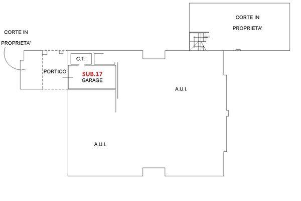 Immagine n1 - Planimetria - Piano terra - Asta 6459