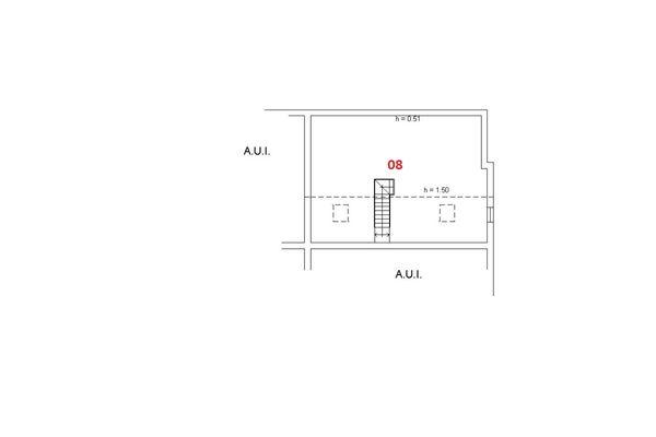 Immagine n1 - Planimetria - Piano secondo - Asta 6459