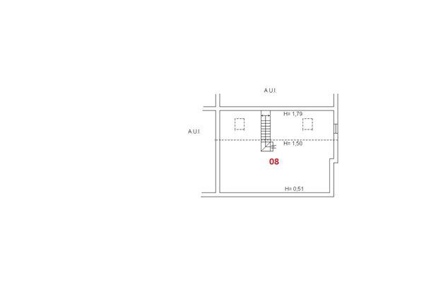 Immagine n1 - Planimetria - Piano secondo - Asta 6460
