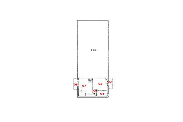 Immagine n0 - Planimetria - Piano secondo - Asta 6470