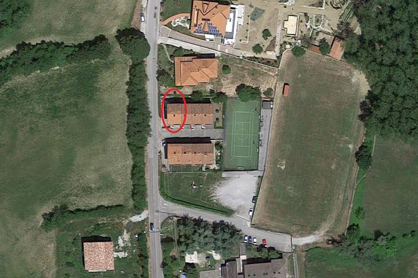 Immagine n1 - Planimetria - Vista aerea - Asta 6472