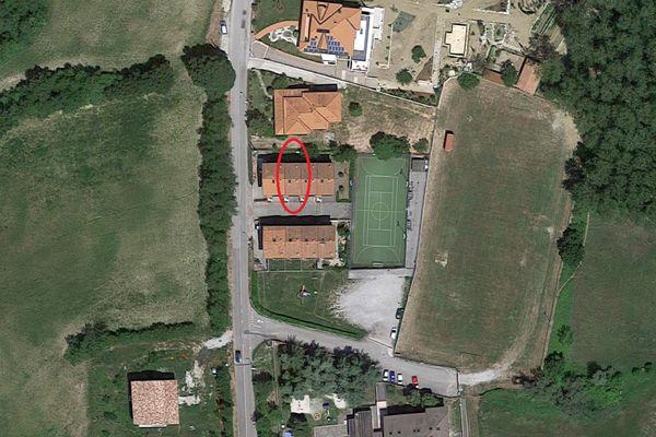 Immagine n1 - Planimetria - Vista aerea - Asta 6473