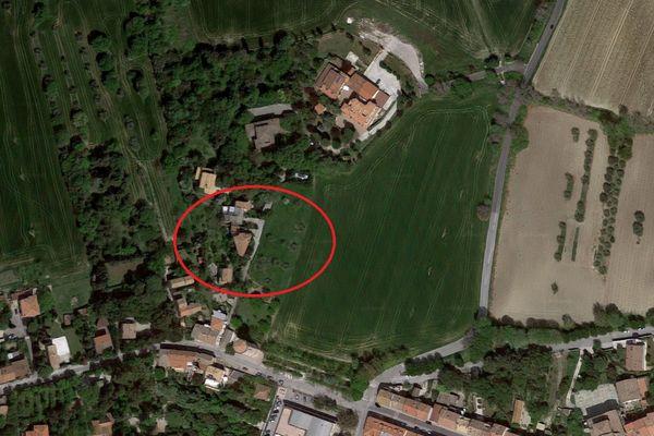 Immagine n0 - Planimetria - Vista aerea - Asta 6497