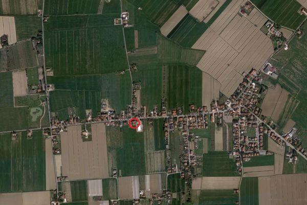 Immagine n0 - Planimetria - Vista aerea - Asta 6561