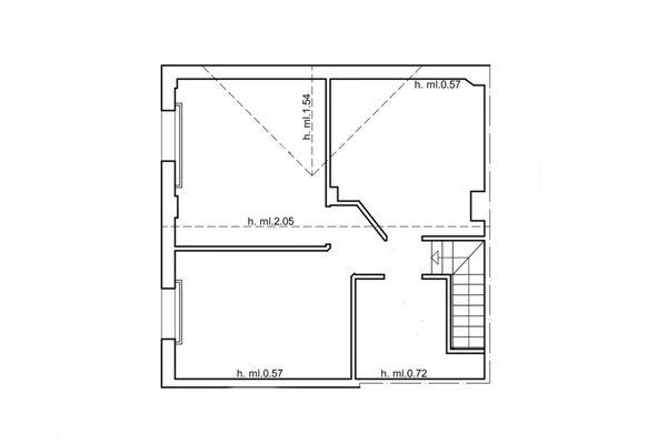 Immagine n0 - Planimetria - Piano sottotetto - Asta 6561