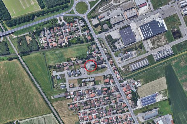 Immagine n0 - Planimetria - Vista aerea - Asta 6567
