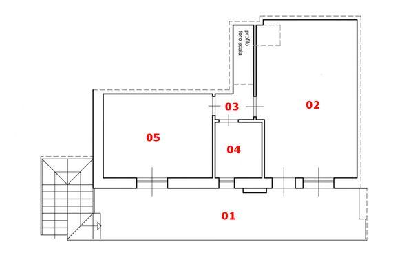 Immagine n0 - Planimetria - Piano primo - Asta 6567