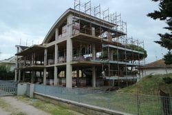 Edificio residenziale in costruzione