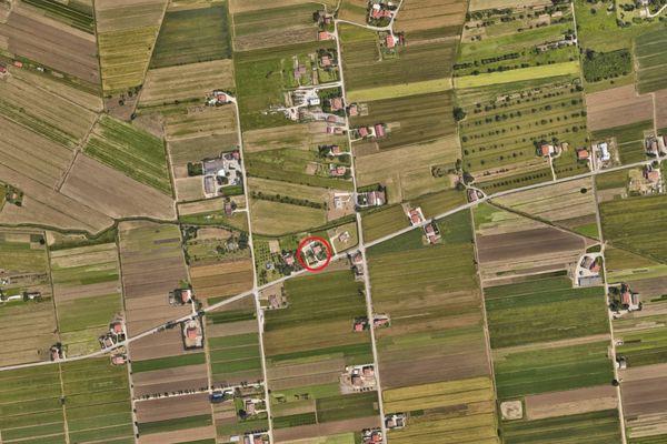 Immagine n0 - Planimetria - Vista aerea - Asta 6571