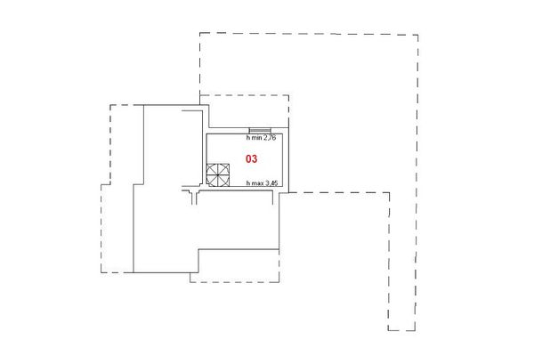 Immagine n2 - Planimetry - First floor - Asta 6588