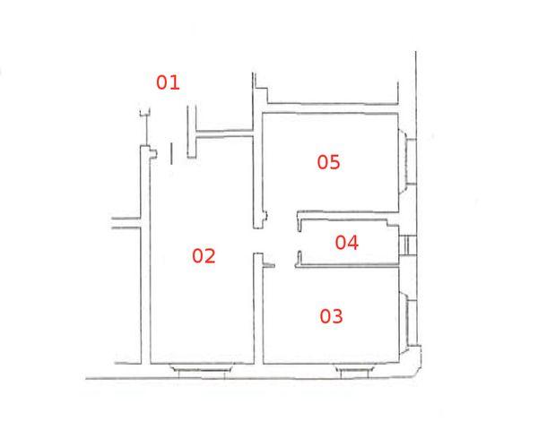 Immagine n4 - Planimetria - Piano primo - Asta 663