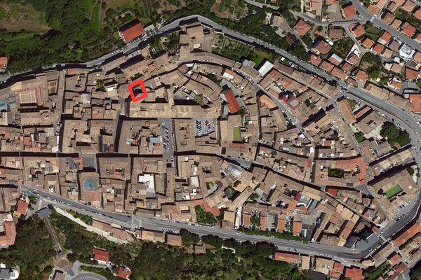 Immagine n0 - Planimetria - Vista aerea - Asta 664