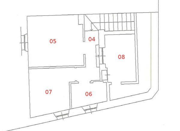 Immagine n4 - Planimetria - Piano terzo - Asta 664
