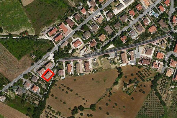 Immagine n0 - Planimetria - Vista aerea - Asta 666