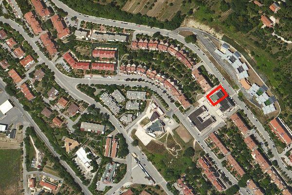 Immagine n0 - Planimetria - Vista aerea - Asta 668