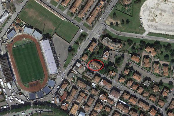 Immagine n0 - Planimetria - Vista aerea - Asta 6682