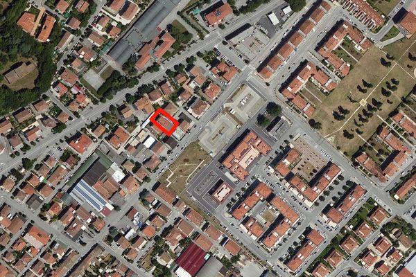 Immagine n1 - Planimetria - Vista aerea - Asta 670