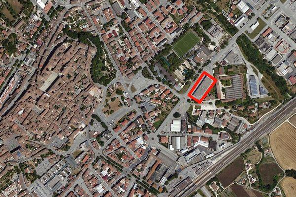 Immagine n3 - Planimetria - Vista aerea - Asta 671