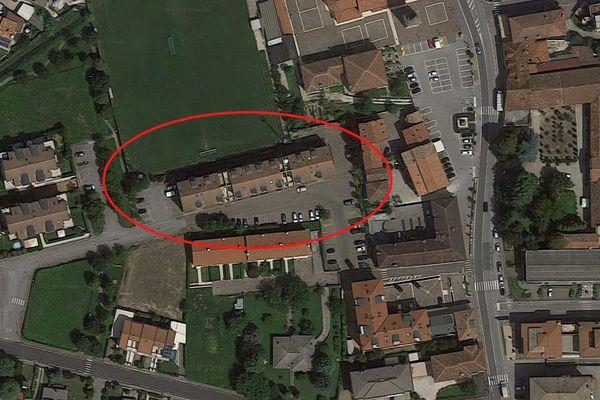 Immagine n0 - Planimetria - Vista aerea - Asta 6712