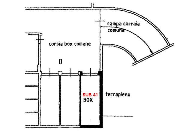 Immagine n1 - Planimetry - First basement floor - Asta 6729