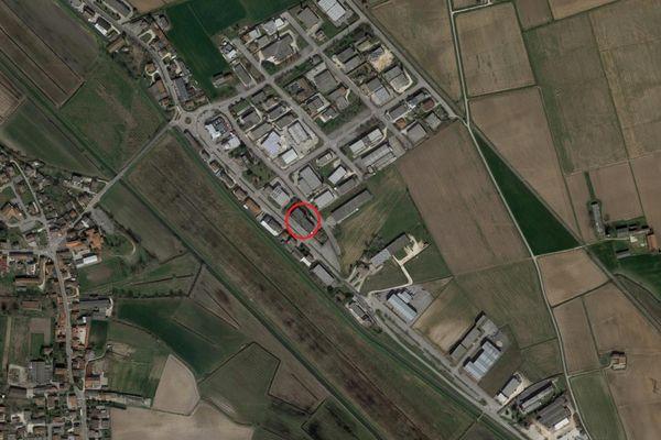 Immagine n0 - Planimetria - Vista aerea - Asta 6757