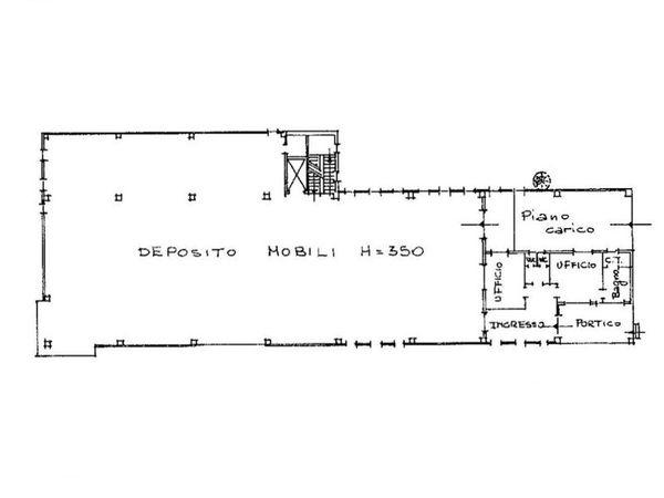 Immagine n2 - Planimetria - Piano terra - Asta 6757