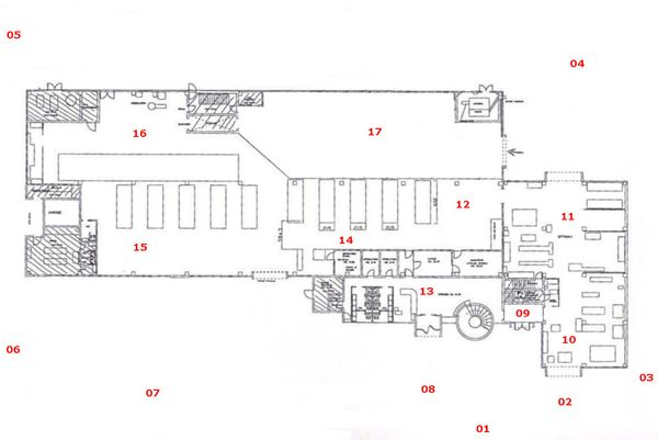 Immagine n0 - Planimetry - Ground floor - Asta 6777