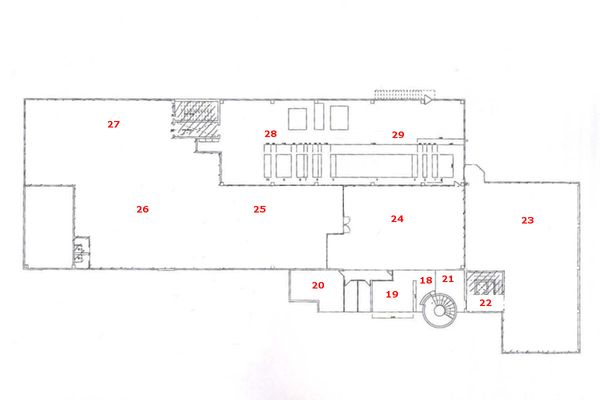 Immagine n1 - Planimetry - First floor - Asta 6777