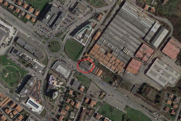 Immagine n0 - Planimetria - Vista aerea - Asta 6794