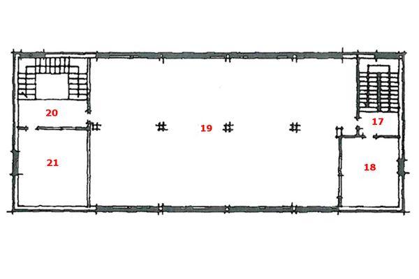 Immagine n0 - Planimetria - Piano terzo (sub 7,8,9) - Asta 6794