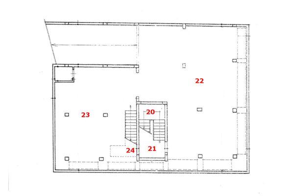 Immagine n0 - Planimetria - Piano primo interrato - Asta 6803