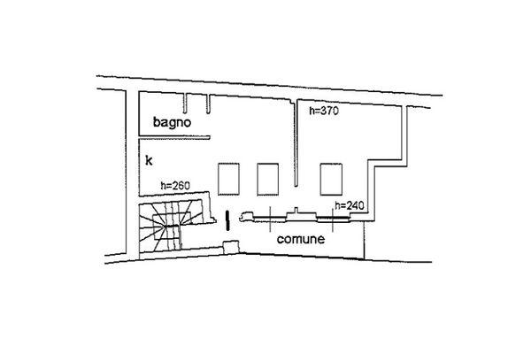 Immagine n1 - Planimetria - Piano secondo - Asta 6805