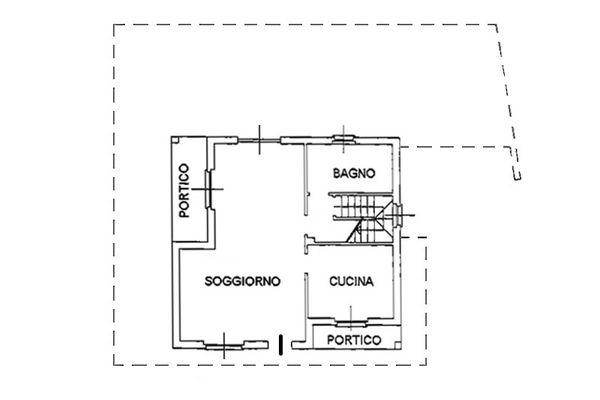 Immagine n1 - Planimetria - Piano terra - Asta 6807