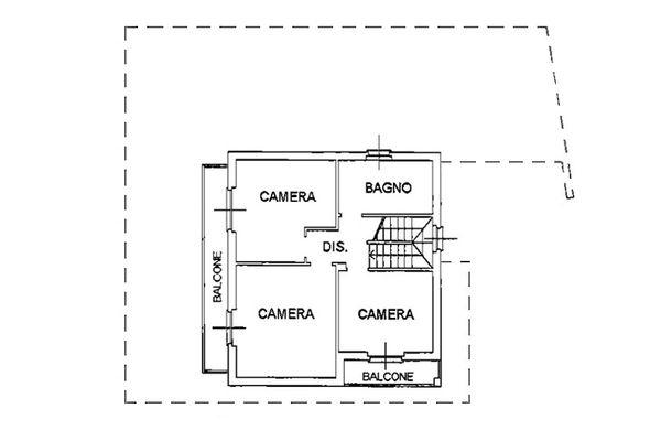 Immagine n2 - Planimetria - Piano primo - Asta 6807