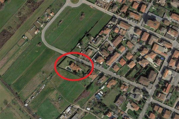 Immagine n0 - Planimetria - Vista aerea - Asta 6809