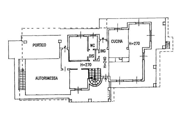 Immagine n1 - Planimetria - Piano terra - Asta 6809