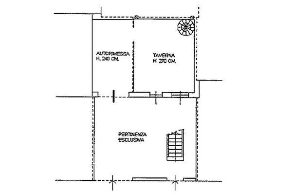 Immagine n1 - Planimetria - Piano terra - Asta 6811