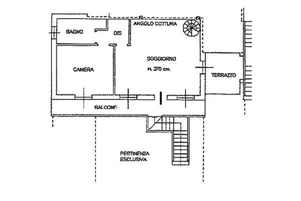 Immagine n2 - Planimetria - Piano primo - Asta 6811