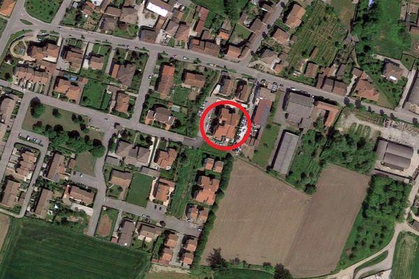 Immagine n0 - Planimetria - Vista aerea - Asta 6812