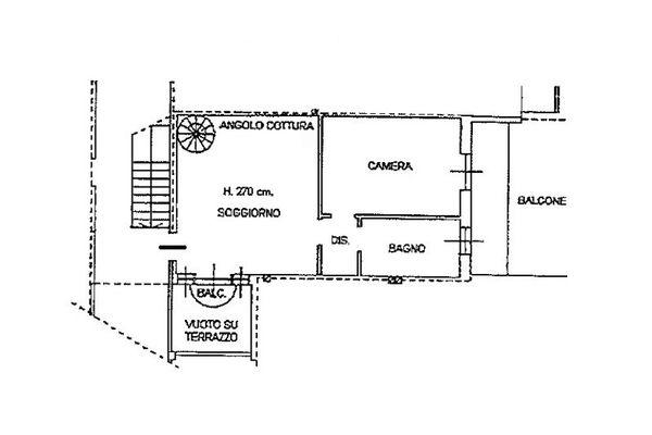 Immagine n1 - Planimetria - Piano secondo - Asta 6812