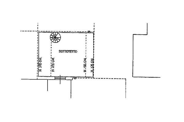 Immagine n2 - Planimetria - Piano terzo - Asta 6812
