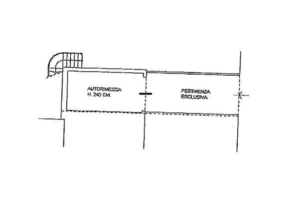 Immagine n3 - Planimetria - Piano terra - Asta 6812