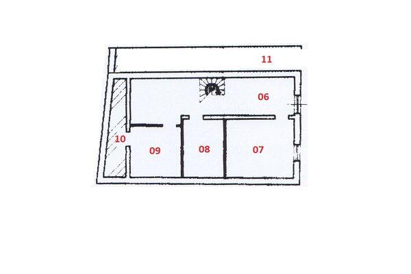Immagine n0 - Planimetria - Piano interrato - Asta 6821