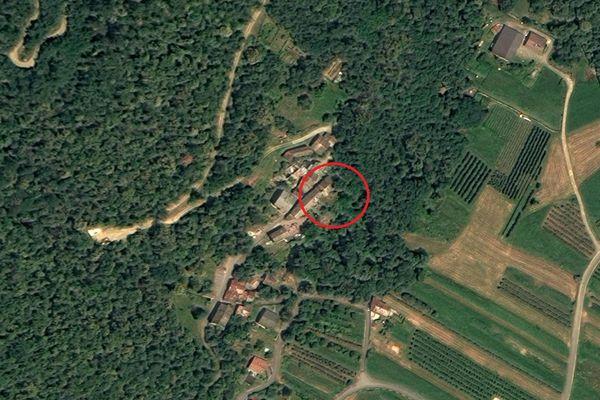 Immagine n0 - Planimetria - Vista aerea - Asta 6844