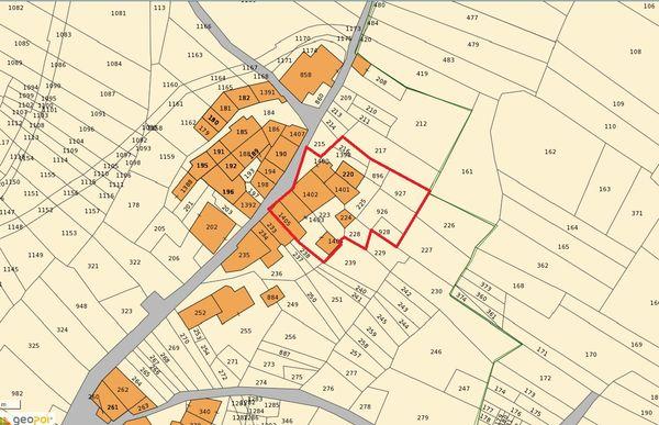 Immagine n1 - Planimetria - Estratto di mappa - Asta 6844