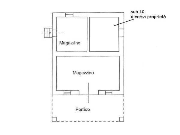 Immagine n1 - Planimetria - Piano terra - Asta 6860
