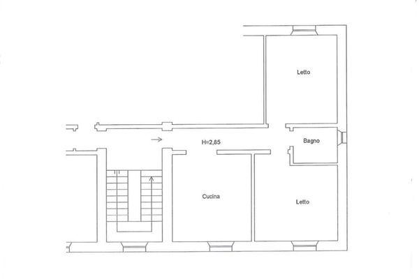 Immagine n0 - Planimetria - Piano primo (sub 16) - Asta 6861