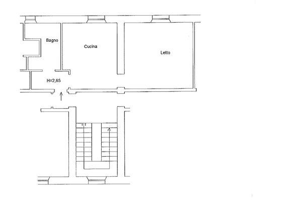 Immagine n0 - Planimetria - Piano primo (sub 17) - Asta 6861