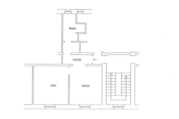 Immagine n0 - Planimetria - Piano primo (sub 18) - Asta 6861